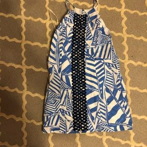 Lilly sailboat shift dress